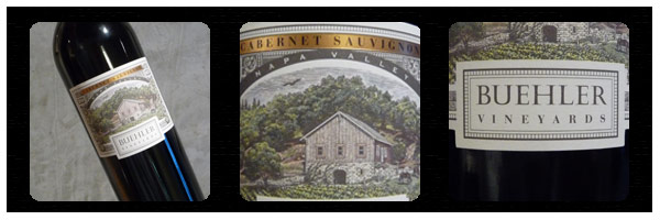 Buehler Vineyards Cabernet
