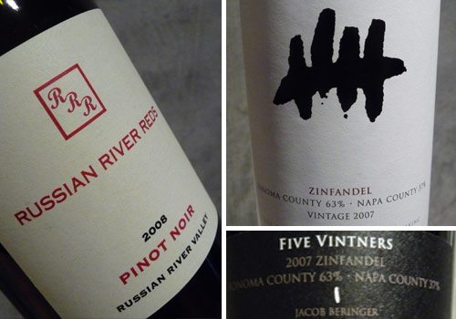 Russian River Reds Five Vintners